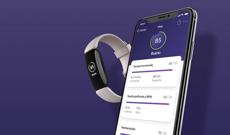 app Fitbit inspire 2